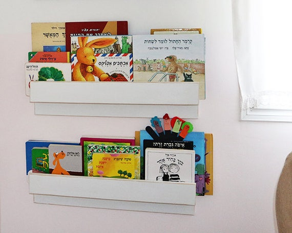 tag re de livre pour enfants unique rangement de la chambre de b b shabby chic tag re en. Black Bedroom Furniture Sets. Home Design Ideas
