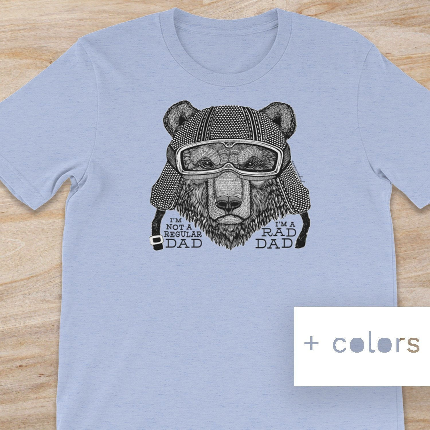 Papa Bear Tee Best Fathers Day Shirt Dad Gift Clothing