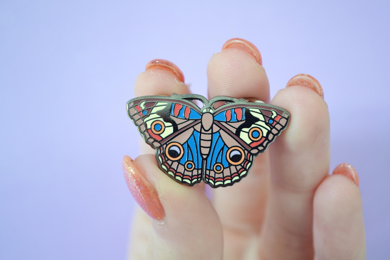 Butterfly Pin Enamel Pin Hard Enamel Pin Lapel Pin Cute | Etsy