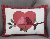 Lovebirds Pillow Pattern ...