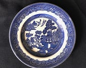 JOHNSON BROS Blue Willow Bread Butter Plate England