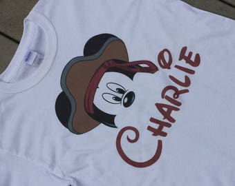 Personalized Disney Pirate Mickey Mouse Shirt
