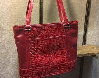 Leather Travelers Tote Bag