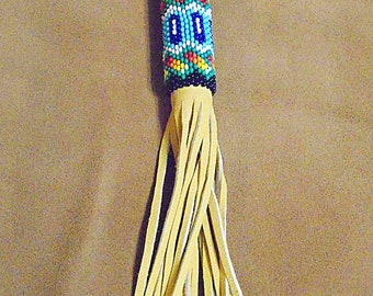 Native American Authentic Beaded Key Chain