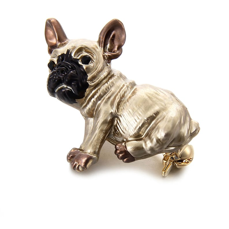 Pug Dog Brooch Clothes Jewelry Accessory