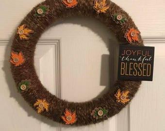 Joyful Thankful Blessed