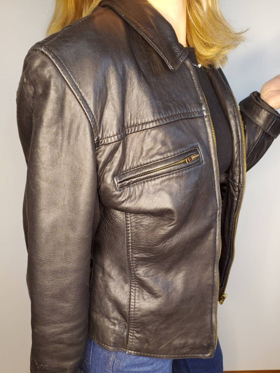 90s leather jacket Buttery soft