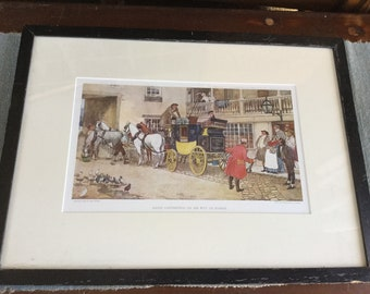 Antiques Vintage Print David Copperfield On His Way To School By Albert Ludovici For Sale Art