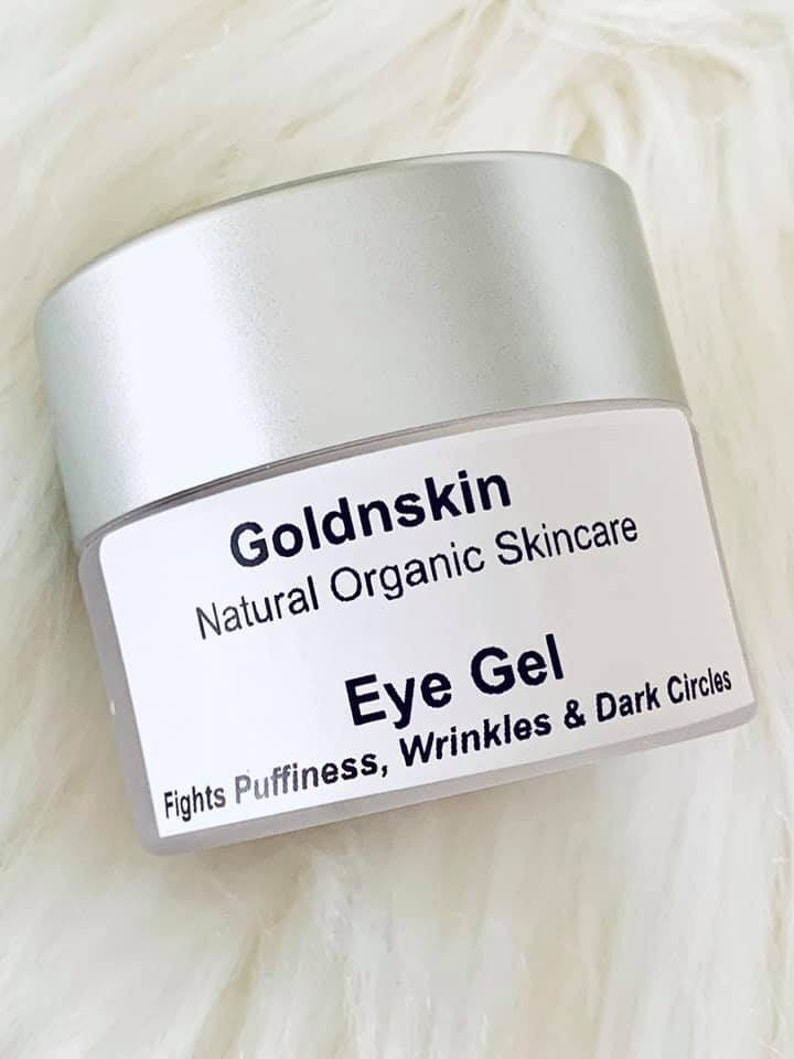 Best Eye Gel for Wrinkles, Fine Lines, Dark Circles, Puffiness, Bags, with  Hyaluronic Acid, MSM, Peptides & more