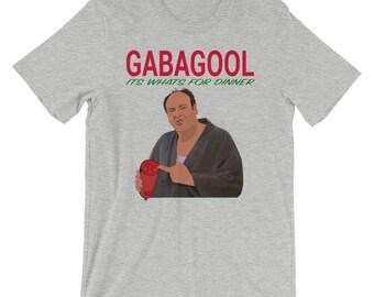 4e99af274227 Tony Sopranos - Gabagool - It's What's For Dinner Short-Sleeve Unisex T- Shirt
