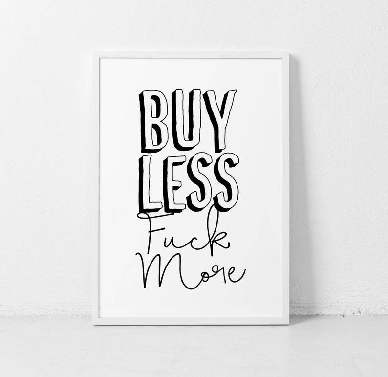 Typography Print, Funny House Rules, Censored Poster, Humorous Art, Gift  for Him, Man Cave Poster, Mature Wall Art, Black White Prints