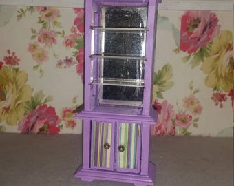 Dollhouse miniatures cabinet