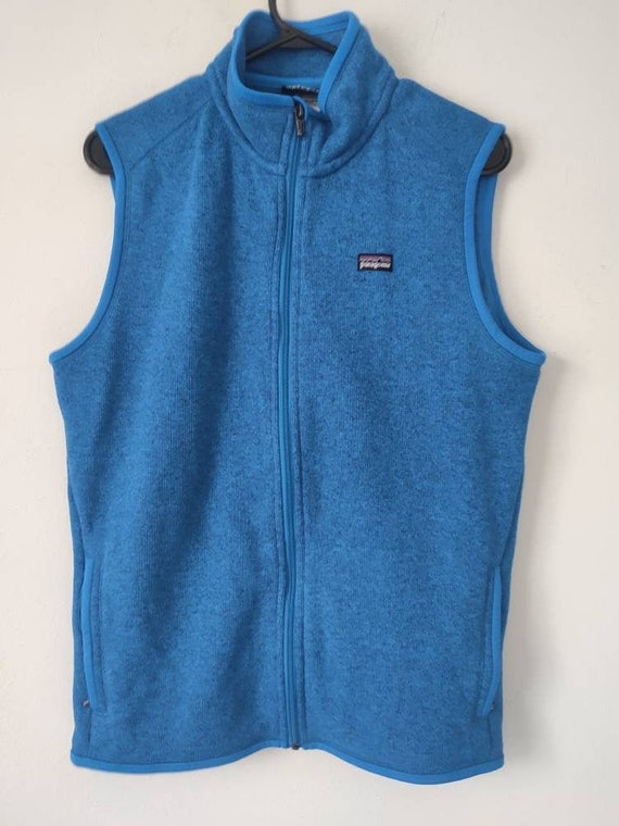 Patagonia Better Sweater Vest women's XL blue