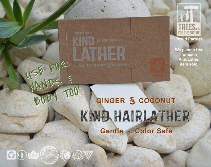 Ultralight Shampoo Soap Body Wash Sheets – Color Safe, Plant Based, Biodegradable, Zero Waste. For Travel & Outdoor Adventures. TSA Approved