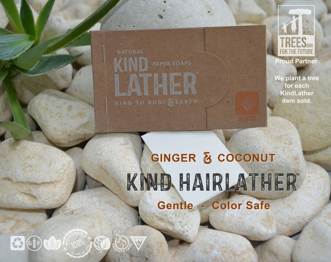 Natural Ultralight Shampoo Sheets – Color Safe, Plant Based, Biodegradable, Zero Waste. For Travel & All Outdoor Adventures. TSA Approved