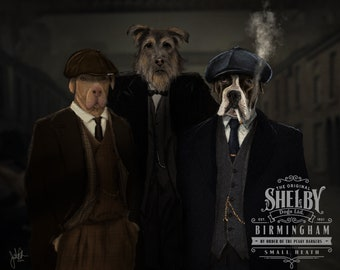 Peaky Blinders Shelby Dogs Ltd.