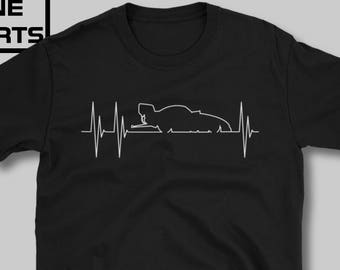 aef39f19 Funny Car Heartbeat T-shirt, drag racing shirt, car shirt, nhra, drag racing,  gift for dad, gift for husband, hot rod, muscle car