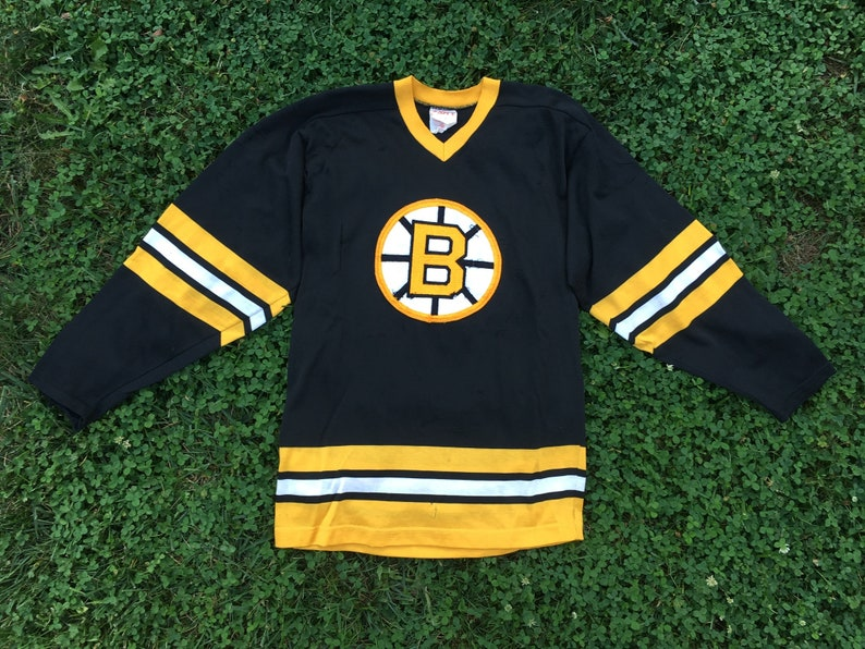 huge selection of 0ba83 3eadb true vintage boston bruins hockey jersey 1960s
