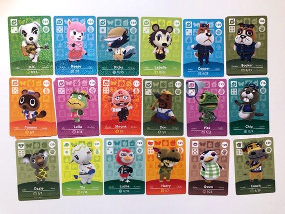 Animal Crossing cartes Amiibo (2)
