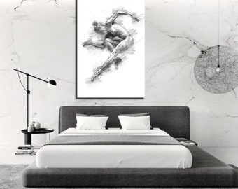 Sensual wall art for your home by sensualexpressions on etsy - Sensual paintings for the bedroom ...
