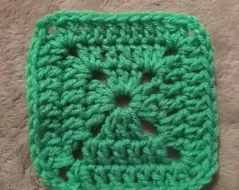 Crochet granny squares/square coasters