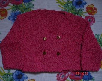 Pink short vest