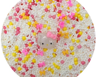 Hello kitty rice crispie treats scented floam with charm