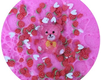 Strawberry Care Bear 8oz SCENTED