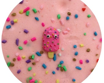 Ice Cream Parlour SCENTED butter slime with charm