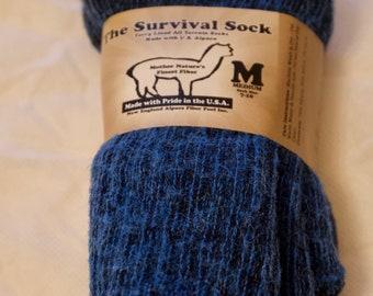Alpaca Survival Socks - Outdoor socks -boot socks