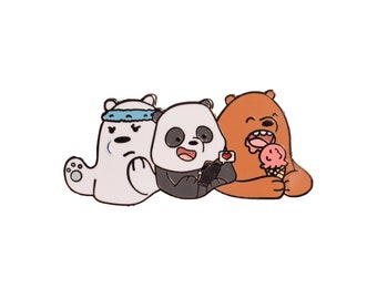 We Bare Bears Adult Hard Enamel Pin