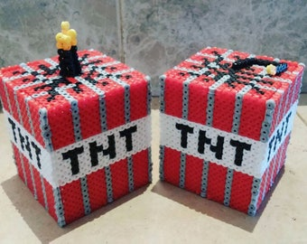 TNT boxes Minecraft