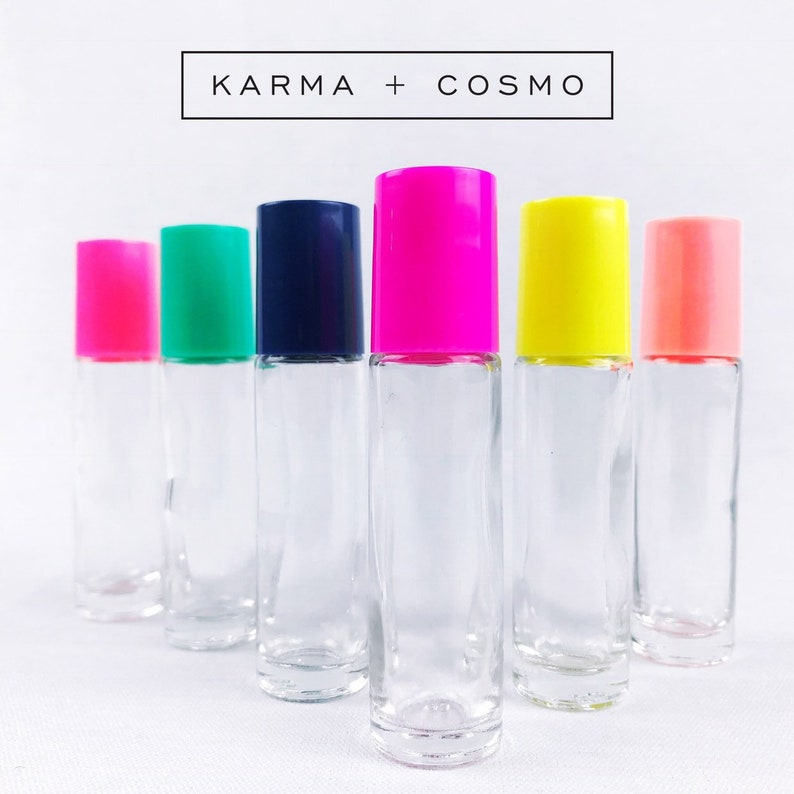 2cc42e876031 BRIGHTS Essential Oil Roller Bottles | 5ml or 10ml | Set of 6