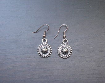 Elaborate Baroque earrings