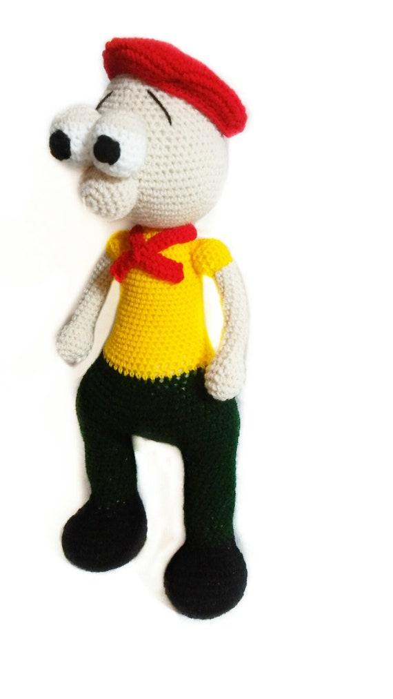 Stuart crochet pattern // Patrón de ganchillo de Stuart pdf | Etsy