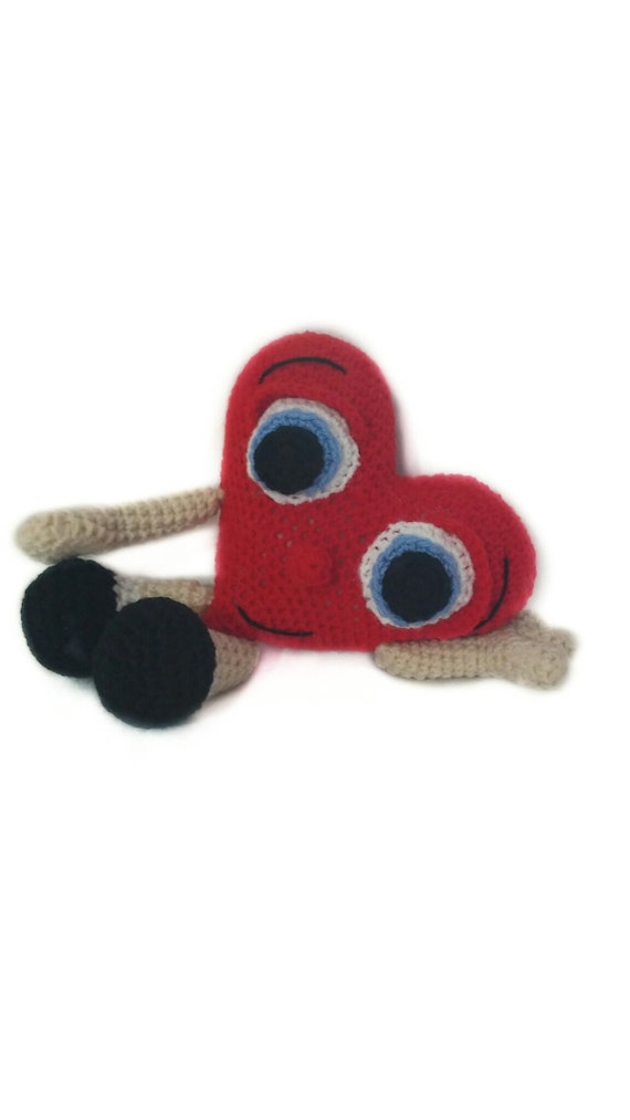 Crochet pattern of tender heart // Patrón de ganchillo de | Etsy