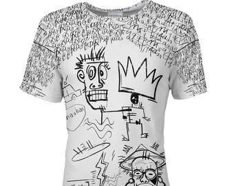 39855c92f1f2d T shirt men designer African art Viva Underground psychedelic | Etsy
