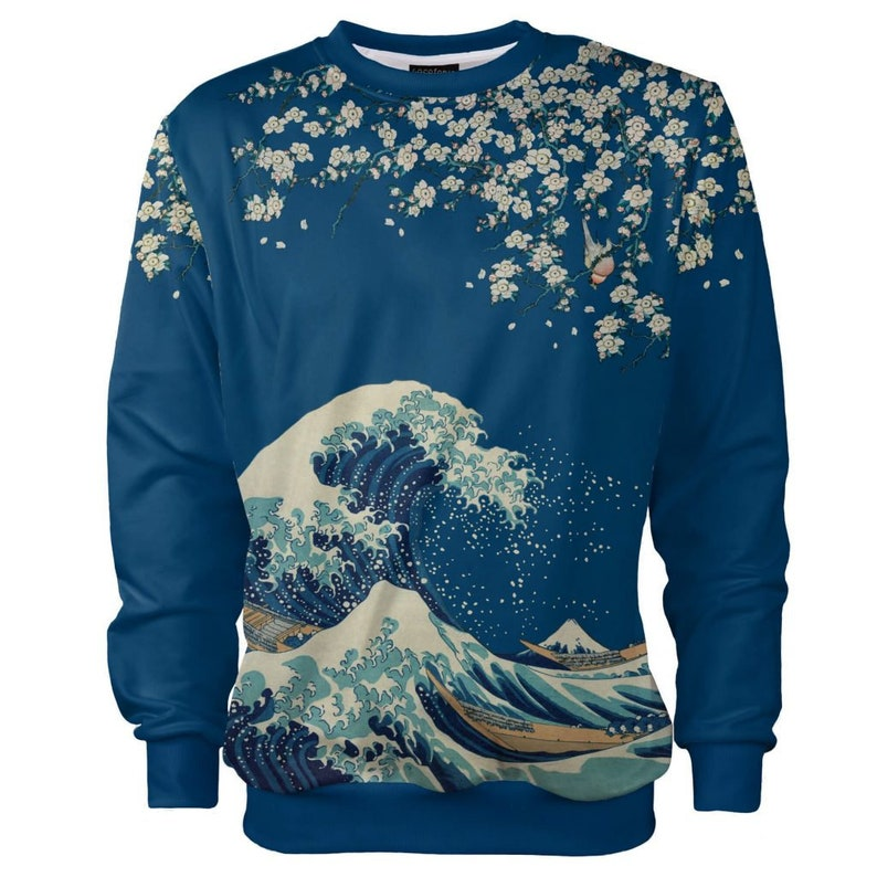 THE GREAT WAVE WOMENS PRINTED FASHION SURF T-SHIRT
