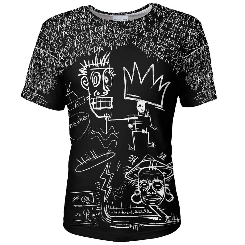 7225aa7802964 T shirt men designer African art King Dark plus size vintage festival  clothing hipster surrealism graffiti top 10 shirt tee unisex men women