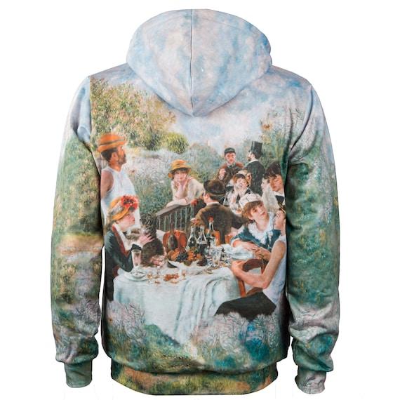 Luncheon Party déjeuner Renoir men hoody hoodie canotiers women of artistic hoodies vintage Boating the des sweatshirt Le designer Auguste qE8Yv