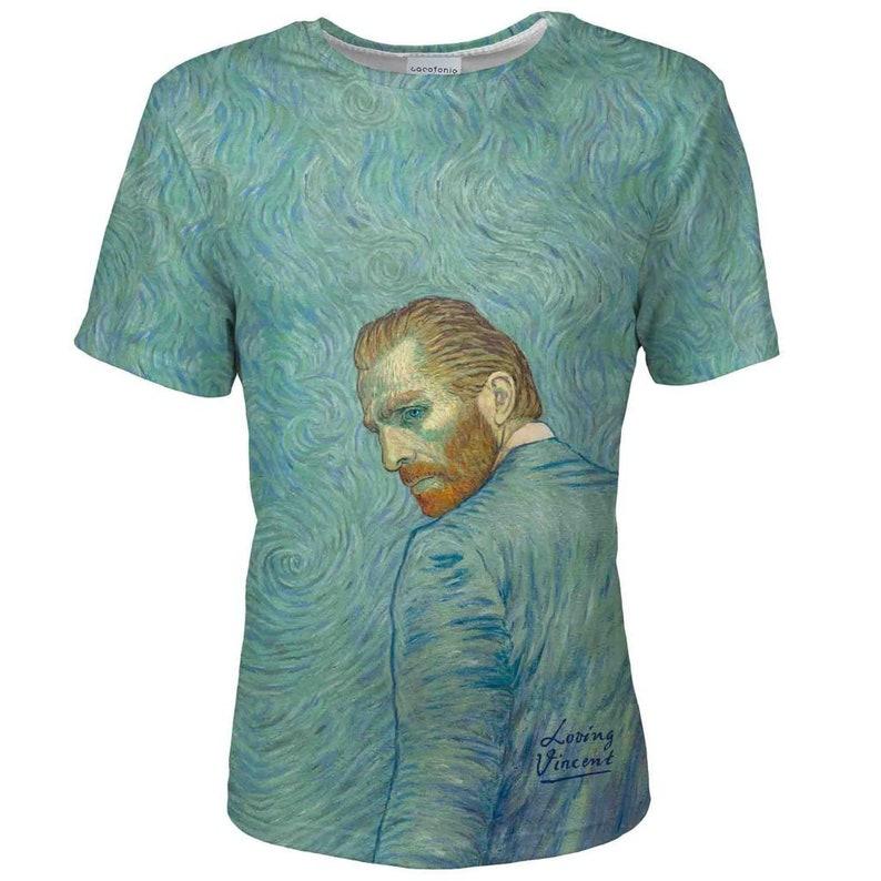 cd95f2eda33 Loving Vincent t-shirt tee men van Gogh t shirt vintage