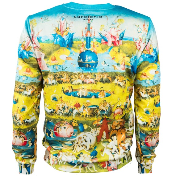 artistic The sweatshirt men print women festival Bosch of women Delights psychedelic clothing 4xl jumper painting Earthly Garden creative tZwRqfSWw
