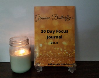 Genuine Butterfly's 30 Day Focus Journal
