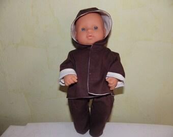Set boy doll body hard 30 cm