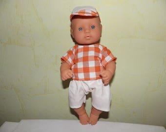 Set was boy doll body hard 30 cm