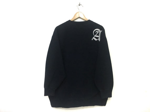 Airwalk Mens Big Logo Sweatshirt Crew Sweater T Shirt Top Jumper Pullover Long