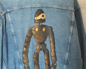 Studio Ghibli handmade jacket