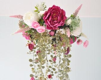 Kronleuchter Floral ~ Blume handy floral mobile blumen kronleuchter vogel etsy