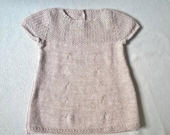 Grey dress 18 month baby
