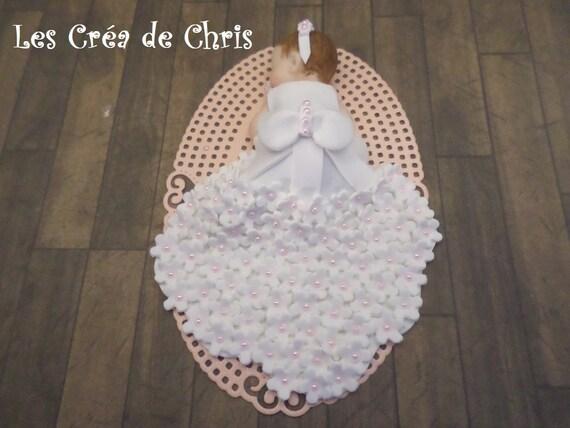 Mad Dots Bébé Strass Coeur Détail céramique Photo Cadre Photo Rose